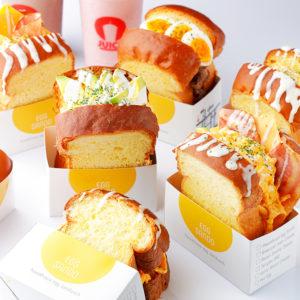 韓国NO.1フレッシュジュースブランドJUICY から、人気急上昇中のふわふわスクラブルエッグトーストが登場🍳🧡7月10(金)より〜