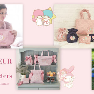 『Maison de FLEUR × Sanrio characters POP UP SHOP』7月10日より開催🎀💕